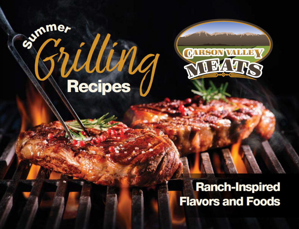 Summer Grilling Recipe Book cover image
